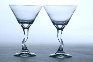 Glassware on white by AndersonPhotography
