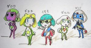 Keroro...the next generation. by Windymon