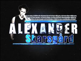 Alexander Skarsgard by TheEvelynS