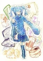 Cyber Colored Ene by hikaster