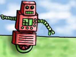 My Little Robot: 1 by Helen--127