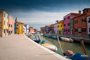 Colors of Burano III by rdalpes