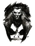 Punisher Speed Sketch by LostonWallace