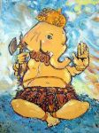 Ganesha Colorful by art-zuza