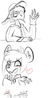 #276 Old (and new) silly sketches by Alise-chan-oWo