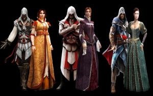 Which Ezio pairing is the best? by thereanimatedunknown