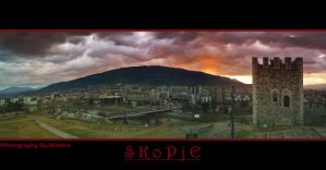 Skopje Sky by mitatos