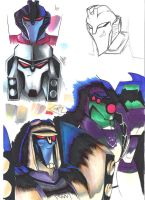 Transformers Animated Practice by Aluinashryu