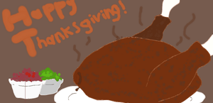 Happy Thanksgiving by ArtistEan