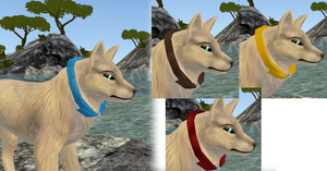FREE: Dog collars item by WulfTheWolf