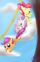 Zip Line fun! by PoisonicPen