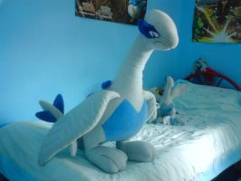 Giant Lugia Plush by xxLatiosxx