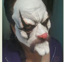 Evil Clown Make-up by spiglo