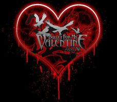 Bullet For My Valentine Heart by AskingMyValentine