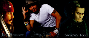 Wallpaper Johnny Depp by Unknown-Diva