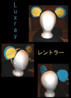 Luxray ears hairband by Gijinkacosplay