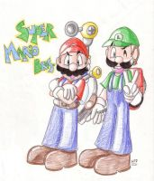 Super Mario Brothers by MilesTailsPrower-007