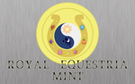 Royal Equestria Mint Wallpaper by ddrkreature