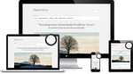 Clean Retin: Free Responsive HiDPI WordPress Theme by gps816