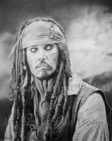Captain Jack Sparrow by KatharinaD