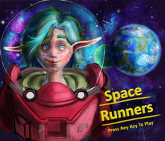 Space Runners (wip) by Alex-Porteous