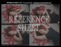 REFERENCE SHEET 2 of 6: Dreaming Butterfly by themuseslibrary