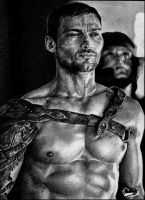 Andy Whitfield -SPARTACUS 4- by ladarkfemme