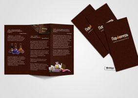 parfumer leaflet by maxmew