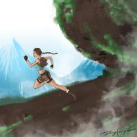 The Great Chase: Lara Croft by n2pink