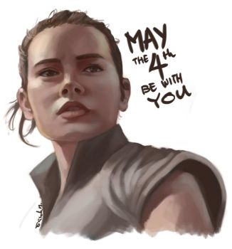 May the 4th be with you by saewah