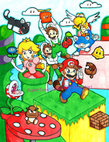 Super Mario 3D World by SuperTawaifaQueen