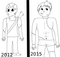 2012 vs 2015 by coolemyasi