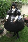 inflatable TPU maids dress by puncturegown