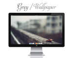 Grey Wallpaper by bokehlicia