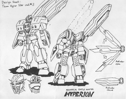Hyperion design sheet 3 by illogictree