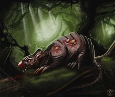 The Swamp Rat by WackoShirow