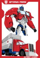 TFP: Optimus Prime by Gambits-Wild-Card