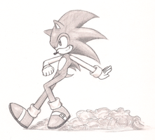 Just For Fun: Sonic Sketch by ShadOBabe