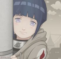 Naruto Coloring: Hinata kid - Do my best too by jane-in-the-box