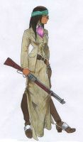 Apache Sheriff lady II by bluessaurus