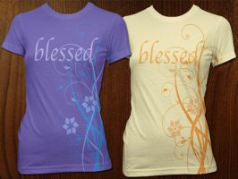 Floral for Dress Blessed by AliceGraphix