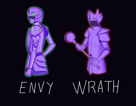 Deadly Sins: Envy and Wrath by KaitoSakaki
