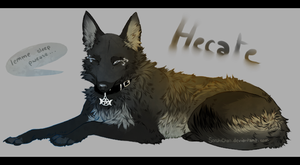 I wanna sleep - Hecate Commission by SorahChan