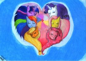 Friendship in Harmony by DanteIncognito