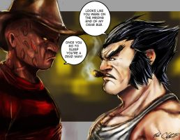X-mean: Claws you look terrible by Mark-Clark-II