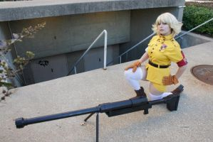 Eurobeat King- AUSA- Seras 9 by DustbunnyCosplay