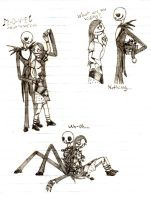 Jack and Sally sweetness by HollyBecker