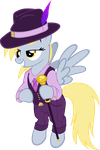 Derpy's Got Swag by MoongazePonies