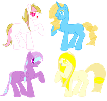 MLP FIM Adopts #4 OPEN by UnicornsInWater
