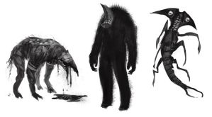 Horror-creatures-concept by Taylor-payton